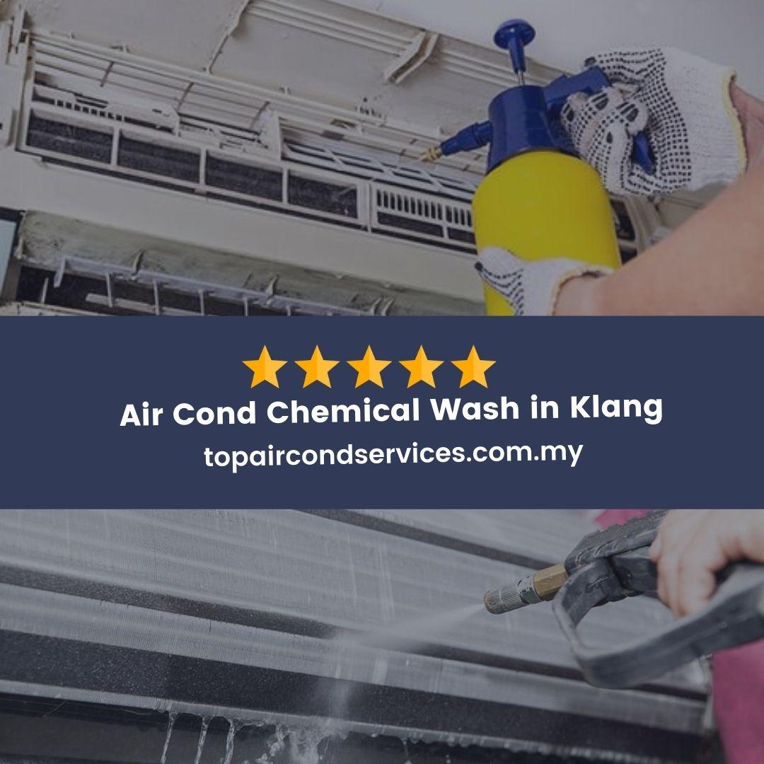 Air Cond Chemical Wash Klang